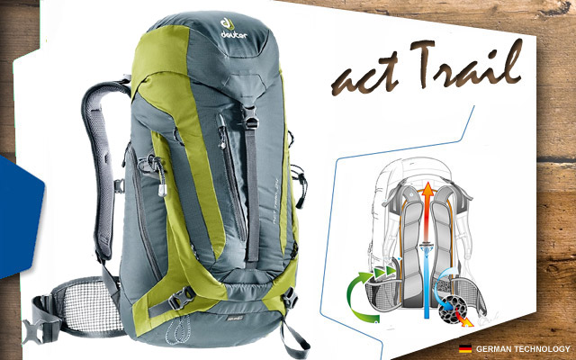 Рюкзак Deuter ACT Trail 24 | 4212 granite-moss