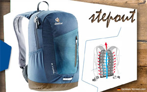 Рюкзак Deuter Stepout 12 | 3358 arctic-midnight