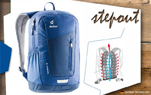 Рюкзак Deuter Stepout 12 | 3395 midnight-steel