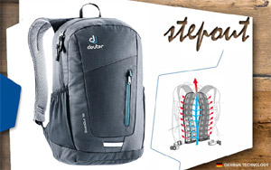 Рюкзак Deuter Stepout 12 | 7000 black