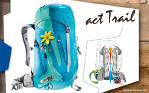 Рюкзак Deuter ACT Trail 22 SL | 3217 petrol-mint