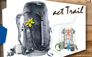 Рюкзак Deuter ACT Trail 22 SL | 7000 Black