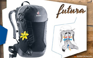 Рюкзак Deuter Futura 22 SL | 7000 black