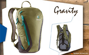 Рюкзак Deuter Gravity Pitch 12 | 2325 khaki-navy