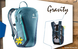 Рюкзак Deuter Gravity Pitch 12 SL | 3329 actic-navy