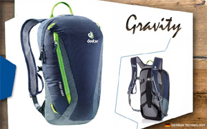Рюкзак Deuter Gravity Pitch 12 | 3400 navy-granite