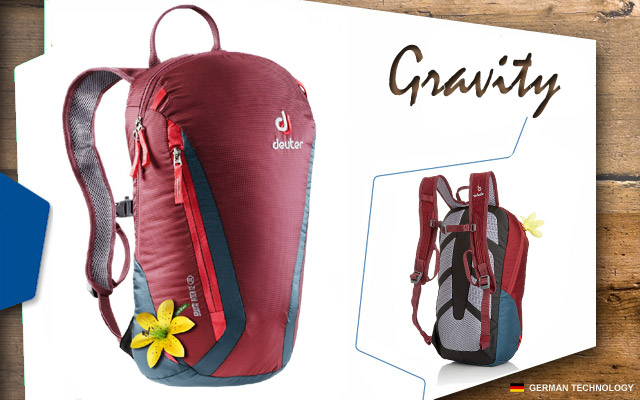 Рюкзак Deuter Gravity Pitch 12 SL | 5324 maron-arctic