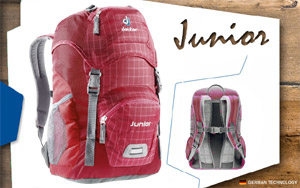 Рюкзак Deuter Junior | 5003 raspberry-check