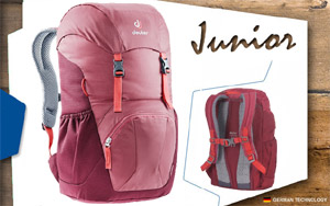 Рюкзак Deuter Junior | 5527 cardinal-maron