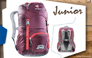 Рюкзак Deuter Junior | 5530 blackberry-aubergine