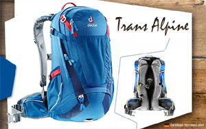 Рюкзак Deuter Trans Alpine 24 | 3100 bay-midnight