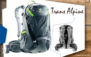 Рюкзак Deuter Trans Alpine 24 | 4701 graphite-black