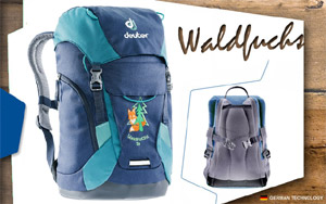 Рюкзак Deuter Waldfuchs 14 | 3351 midnight-petro
