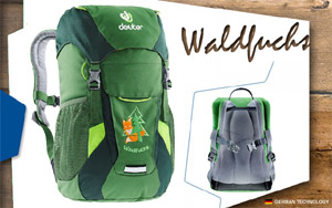 Детский рюкзак Deuter Waldfuchs | 2238 leaf-forest