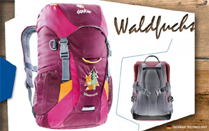 Рюкзак Deuter Waldfuchs | 5053 blackberry-magenta