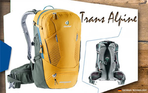 Рюкзак Deuter Trans Alpine 24 | 9203 curry-ivy