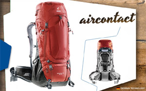 Deuter Aircontact PRO 60+15 | 5280 lava-anthracite