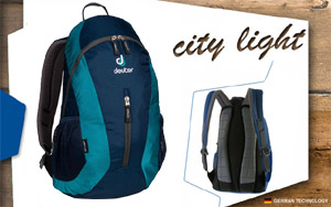 Рюкзак Deuter City Light | 3351 midnight-petrol