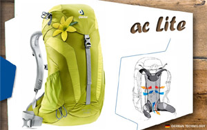 Рюкзак Deuter AC Lite 14 | 2223 moss-apple