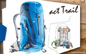 Рюкзак Deuter ACT Trail 24 | 3033 ocean-midnigh