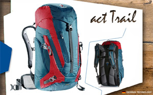 Рюкзак Deuter ACT Trail 30 | 3514 arctic-fire