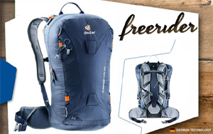 Рюкзак Deuter Freerider Lite 25 | 3010 navy