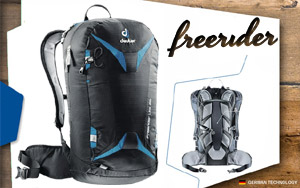 Рюкзак Deuter Freerider Lite 25 | 7303 black-bay