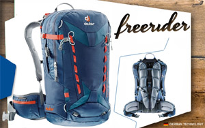 Рюкзак Deuter Freerider Pro 30 | 3359 midnight-arctic