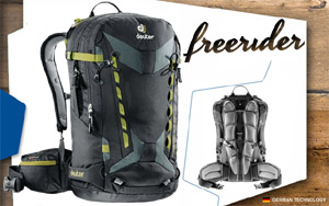 Рюкзак Deuter Freerider Pro 30 | 7410 black-granite