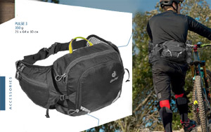 Сумка на пояс Deuter Pulse 3 | 7000 Black