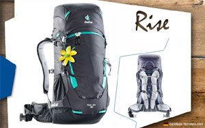 Рюкзак Deuter Rise 32+ SL | 4701 graphite-black