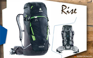 Рюкзак Deuter Rise Lite 28 | 7403 black-graphite