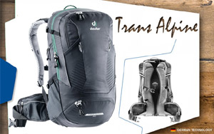 Рюкзак Deuter Trans Alpine 24 | 7000 black