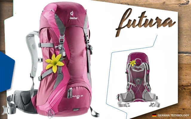 Рюкзак Deuter Futura 24 SL | 5053 blackberry-magenta