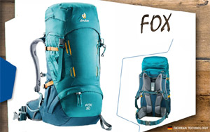 Рюкзак Deuter Fox 30 | 3325 petrol-arctic