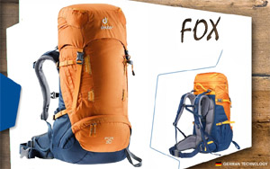 Рюкзак Deuter Fox 30 | 9302 mango-midnight