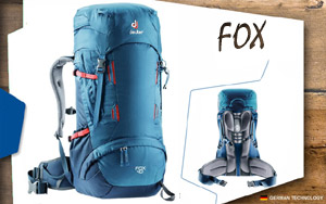 Рюкзак Deuter Fox 40 | 3033 ocean-midnight