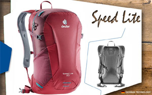 Рюкзак Deuter Speed lite 20 | 5528 cranberry-maron