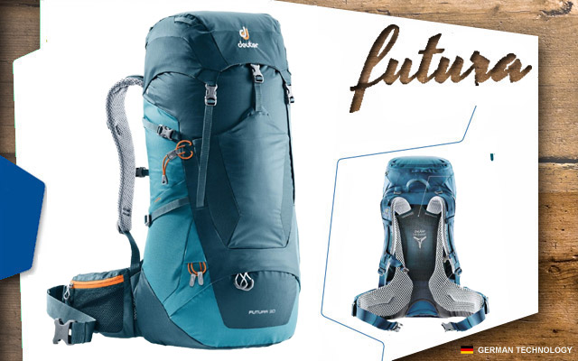 Рюкзак Deuter Futura 30 | 3318 arctic-denim