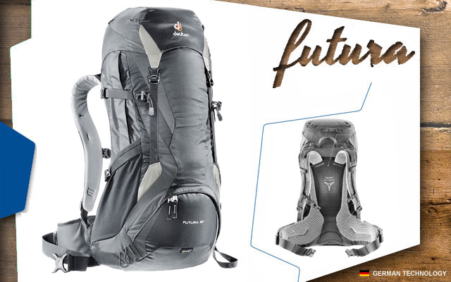 Рюкзак Deuter Futura 35 EL | 7410 black-granite